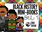 Black History Month~ Mini Foldable Books  (Informational Text)