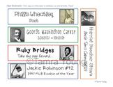 Black History Month Paper Bookmarks {Celebrate Diversity}