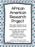 Black History Month Project- web quest