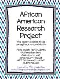Black History Month Project- web quest