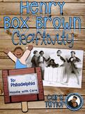 Black History Month~Henry Freedom Box Craftivity