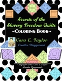 Black History Month~Slavery Quilt Codes Activity Book