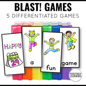 Blast CVC/CCVC Game