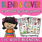 Blend & Cover {CVC Word Blending}