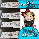 Blend and Digraph Word Sliders