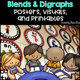 Blends and Digraphs Mega Pack: Posters, Handouts, Games, Centers