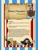 Blimey Digraphs - A Pirate Themed Game to teach the digrap
