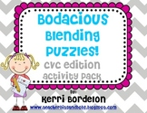 Bodacious Blending Puzzles- CVC Activity Pack