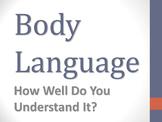 Body Language Powerpoint Presentation
