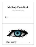 Body Parts Book
