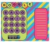 Boggle for the Smartboard