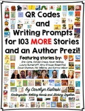 Author Study Writing Prompt Packet:  Featuring Books by 8 Authors