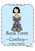 Book Form - Cowboy