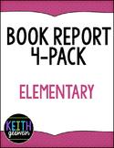 Book Report 4-Pack