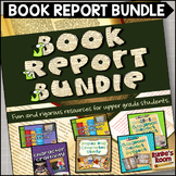 Book Report Bundle - 5 Creative Book Report Projects