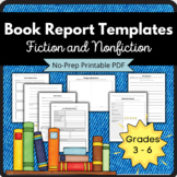 Book Report Bundle (Fiction and non-Ficiton Templates)