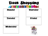 Book Shopping Schedule
