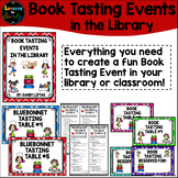 Book Tasting Events in the Library