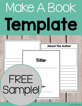 Book Template - Free