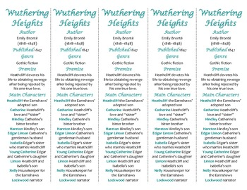 Bookmarks Plus: Wuthering Heights edition--A Handy Reading Aid!