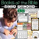 Books of the Bible MEGA Packet - 10 Engaging Activities