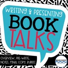 Book Talks - Presenting and Writing Book Talks