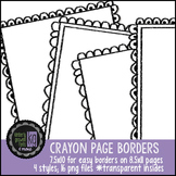 Borders: KG Crayon Borders