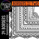 Borders MEGA Pack 2 {Creative Clips Digital Clipart}