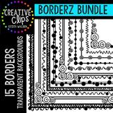 Borderz Bundle 1 {Creative Clips Digital Clipart}