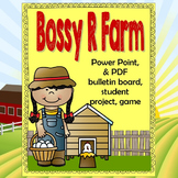 Bossy R Farm Lesson  to help teach r-controlled vowels, Po