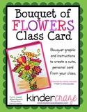 Bouquet of Flowers Class Card