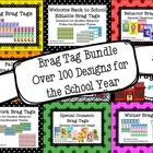 Brag Tag Growing Bundle (Designs for the School Year)