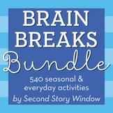 Brain Breaks Bundle for the Entire Year