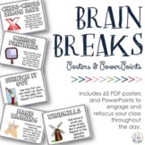 Brain Breaks for the Classroom {Posters & PPT}