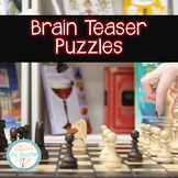 Brain Teaser Puzzles with Charts