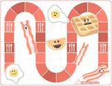 Breakfast Bacon Game Board