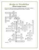 Bridge to Terabithia: Figurative Language Crossword--Fun a