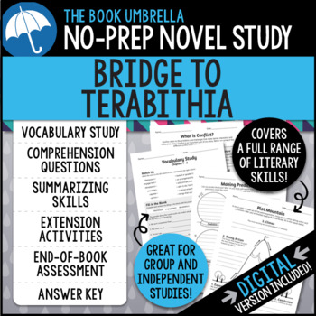 Bridge to Terabithia Novel Study - Katherine Paterson