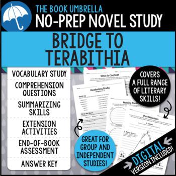Bridge to Terabithia Novel Study - Katherine Paterson