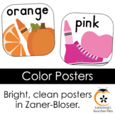 Bright & Clear Color Posters (Zaner-Bloser)