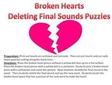 Broken Hearts - A Valentine's Day Deleting Final Sound Puzzle