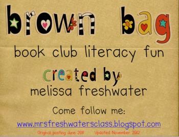 Brown Bag Book Club Literacy Fun