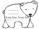 Brown Bear Brown Bear Story Retelling Slide