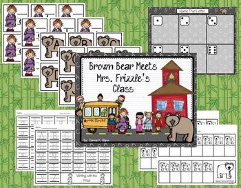 Brown Bear Meets Ms. Frizz