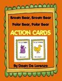 Brown Bear and Polar Bear Action Cards