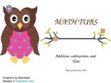 Brown Owl math tubs