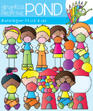 Bubblegum Kids - Clipart Graphics for Teachers