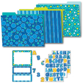 Bubbly Blues Organization Set SALE 20% OFF 144294