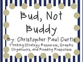 Bud, Not Buddy by Christopher Paul Curtis: Characters, Plo