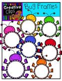Bug Frames {Creative Clips Digital Clipart}
